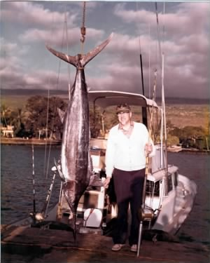 Glen's marlin - Hawaii circa 1980s