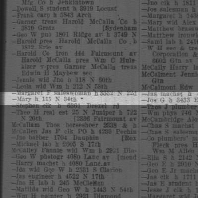 1916  ? our Mary McC ?  p.1059 {f3=..0761.