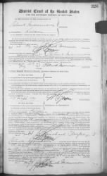 Mannion, Par › Petition for Naturalization (1899) - Fold3.com