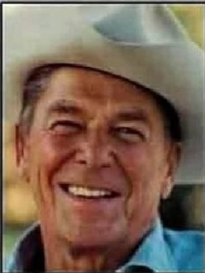 Reagan Ronald on his ranch in California.jpg