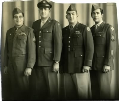 Gold Brothers - 1946 in uniform - Fold3.com