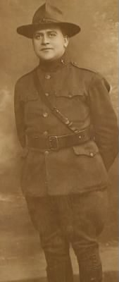 Jesse Samuel Dancey, WWI Chaplain, France