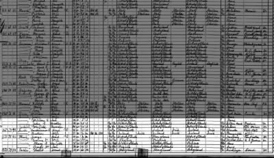 A MUCH in Washington DC, 1920 fed census, a relative of Captain MUCH.