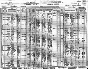 Higbee, Janice Firm 1930 Woodhaven, Queens, New York Census