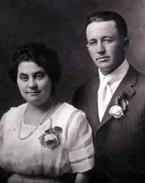 Newton Turpin Jr. and wife Mamie