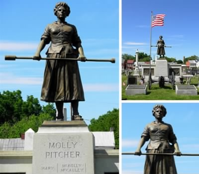 Grave of Molly Pitcher - Fold3.com
