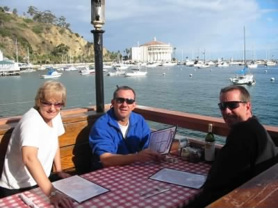 Catalina Island, a surprise birthday trip he planned for me with Dave and Kelly - Fold3.com