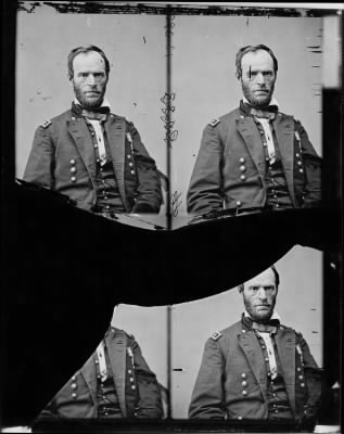 Mathew B Brady Collection of Civil War Photographs › B-5249 Gen. William T. Sherman. - Fold3.com