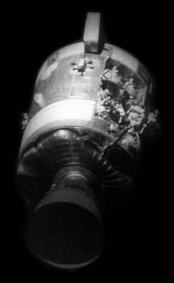Apollo 13 Service Module Damage
