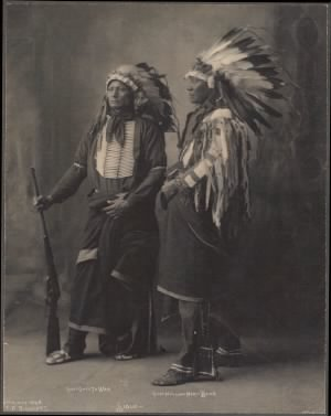 57 - Chief Goes To War, Chief Hollow Horn Bear, Sioux