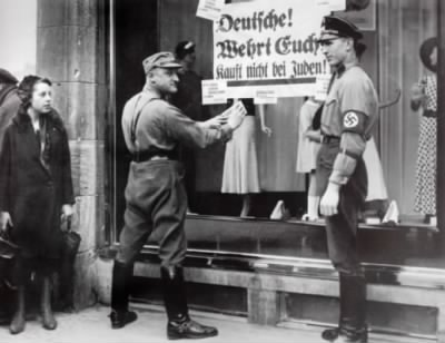 SA and SS Men Post Anti-Jewish Shopping Signs.jpg - Fold3.com
