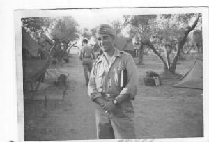 Capt/Lt Bob Spikes, Pilot at Soliman, Tunisia.