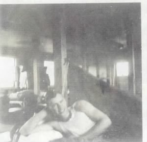 William Eugene Norton in barracks