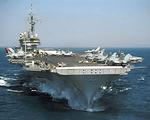USS KITTY HAWK (CV-63