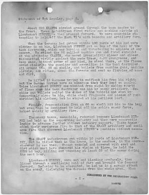 Audie Murphy Letter Page 2