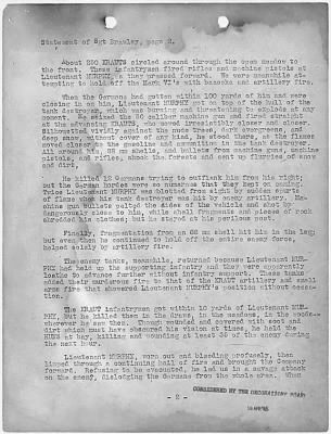 Audie Murphy Letter Page 2 - Fold3.com