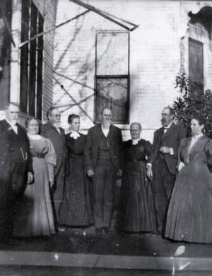 John Wesley Craycroft and his wife and brothers and their wives