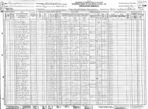 1930 Apr 2 US Census for August Baer in Philadelphia, Line 26