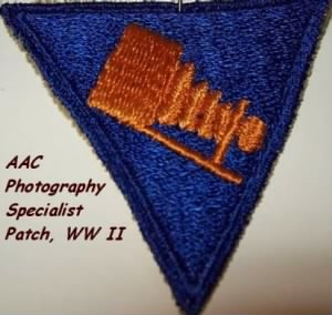 S/Sgt Bernard Barrett, Photographic Specialist Patch