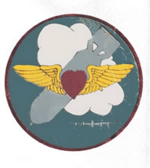 757th Bomb Squadron Patch (459th BG B-24 Heavy) Italy.