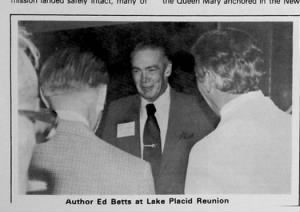 Lt Ed Betts, Jr. 310thBG, Reunion in the 1980's, Lake Placid, NY