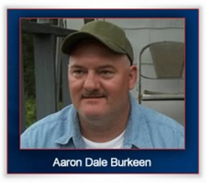 Photograph of Aaron Dale Burkeen