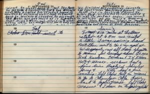 fh-nvd famd Norman Van Duncan's Missionary Journal Mentions Future Wife Sister Flora Miles on Sunday 21 Sep 1947.jpg