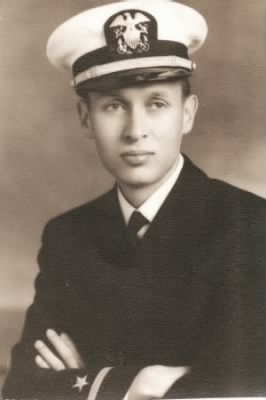 H Tracy Hall in Navy Uniform