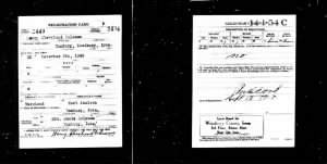 Harry Cleveland Coleman _ World War I Draft Registration Card