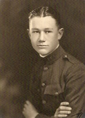 Frederick S. Haines, Jr. at Hll Military Academy, Portland, Oregon