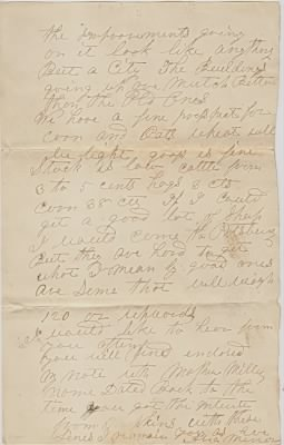 Letter: Page 2, 1872, Abia Minor
