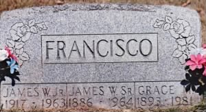 Francisco headstone