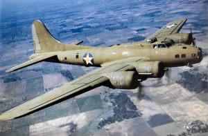 B-17 Flying Fortress over Italy