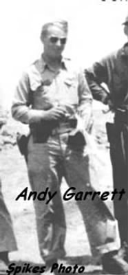 Lt Andy K Garrett, Nav. on the B-25 Mitchell WWII