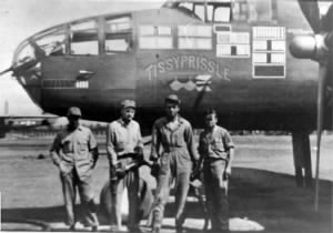 Frank B Dean was a B-25 Crew Chief during WWII on Corsica/MTO