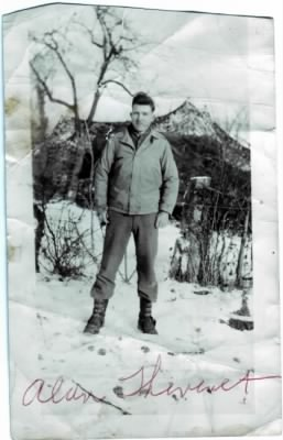 Alan Thevenet in Germany During World War II