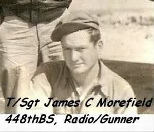 T/Sgt James Carl Morefield