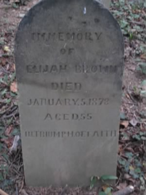 The Grave of Elijah Brown