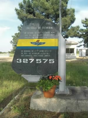 57th Bomb Wing Memorial on Corsica /Dominique Taddei Photo