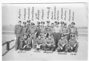 321stBG, 447thBS, Original Cadre' of Officer Pilots /Bugbee Photo