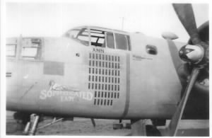"#41-13181 B-25 ""Sophisticated Lady"" Delore Monroe was KIA over Target 22 Jan'44"