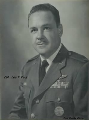 Official Portrait for COL. Leo F Paul, USAF