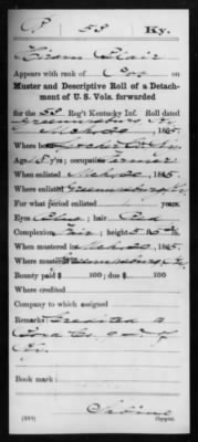 Blair, Hiram (Elihu) I 53 KY Inf Compiled Service Record Page 2.jpg