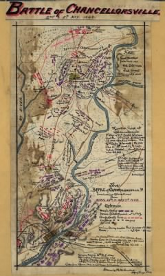 Fold3 Image - The Battle of Chancellorsville, Va., including operations from April 29th to May 5th, 1863.