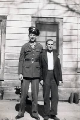 Jay and his father Henry Melvin Oliver