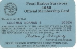 Pearl Harbor Survivors Association