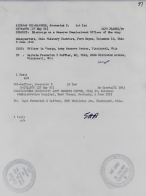 27 May 1953, Memo AIDHJ-M 201-Capt. Plants Discharge Memo