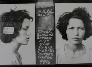 Blanche Barrow Booking Photo