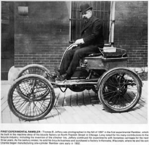 Thomas B. Jeffery and 1897 Rambler