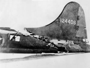 Lt Bragg's B-17 was one sturdy and faithful B-17, all survived at home in England.